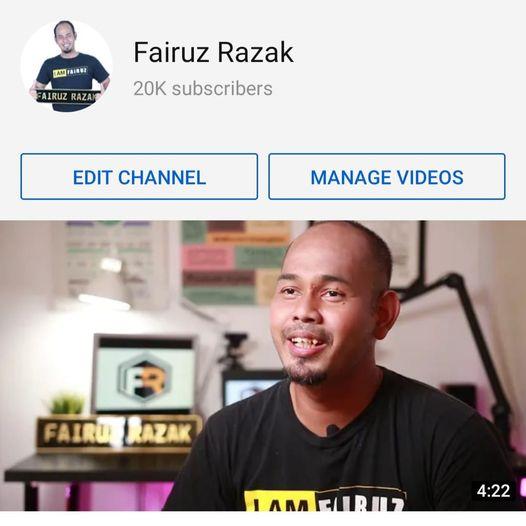 fairuz 20k Subscriber